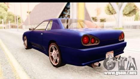 20egt Elegy para la visión correcta GTA San Andreas