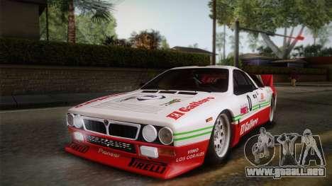 Lancia Rally 037 Stradale (SE037) 1982 IVF PJ1 para GTA San Andreas