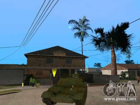 T-62 para la visión correcta GTA San Andreas
