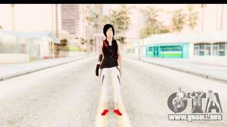 Mirrors Edge Catalyst Faith para GTA San Andreas segunda pantalla
