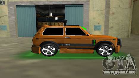 VAZ 21213 NIVA 4x4 Tuning para GTA Vice City left