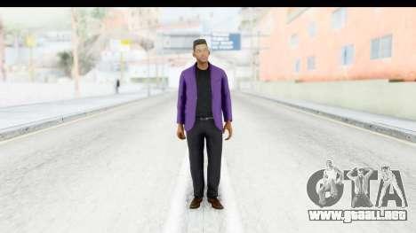 Will Smith Fresh Prince of Bel Air v2 para GTA San Andreas segunda pantalla