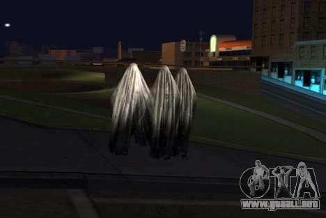 Transparent Ghost para GTA San Andreas segunda pantalla