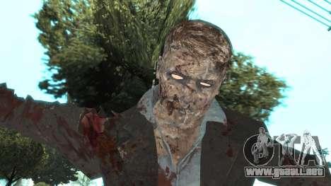 Zombie from Black Ops 3 para GTA San Andreas sucesivamente de pantalla