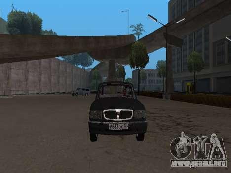 GAZ 310221 para GTA San Andreas left