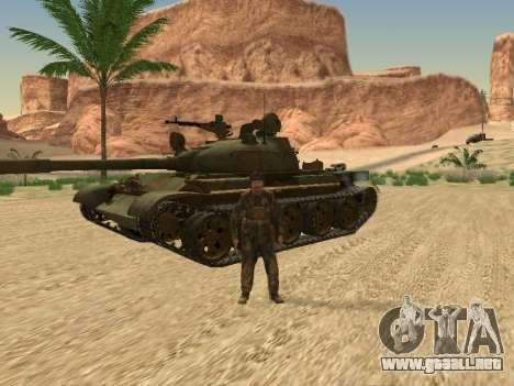 T-62 para visión interna GTA San Andreas