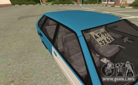 2109 para GTA San Andreas vista posterior izquierda