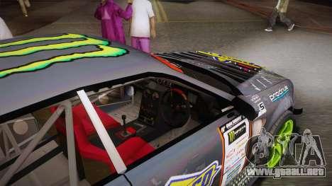 D1GP Toyota Mark II Sunoco Monster para visión interna GTA San Andreas
