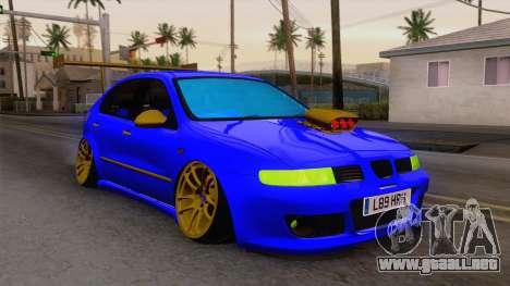 Seat Leon Haur Edition para GTA San Andreas