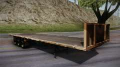 GTA 5 Army Flat Trailer IVF para GTA San Andreas