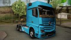 Mercedes-Benz Actros Mp4 6x4 v2.0 Gigaspace v2 para GTA San Andreas