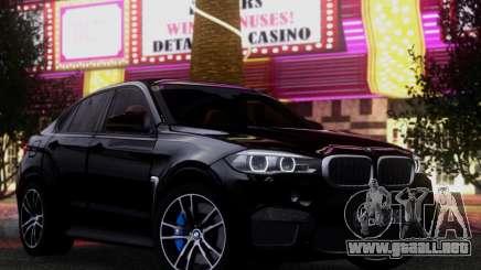 BMW X6M BULKIN ED. para GTA San Andreas