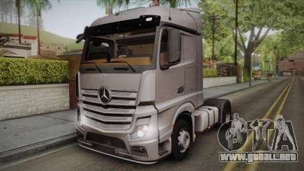 Mercedes-Benz Actros Mp4 4x2 v2.0 Steamspace v2 para GTA San Andreas