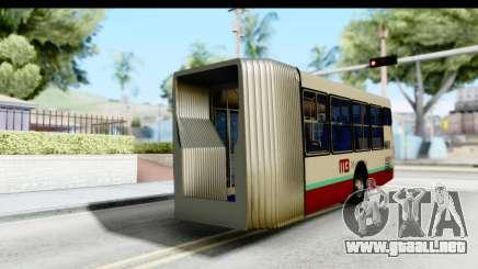 Metrobus de la Ciudad de Mexico Trailer para GTA San Andreas