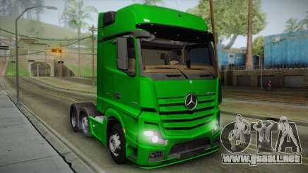 Mercedes-Benz Actros Mp4 6x2 v2.0 Gigaspace v2 para GTA San Andreas