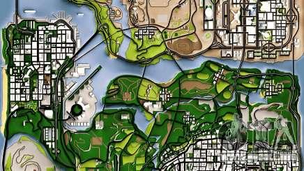 Remaster Map Full Version para GTA San Andreas