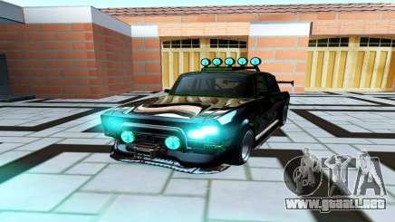 Moskvich 2140 Turbo De Optimización para GTA San Andreas