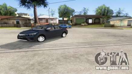 Toyota Corolla 2014 HQLM para GTA San Andreas