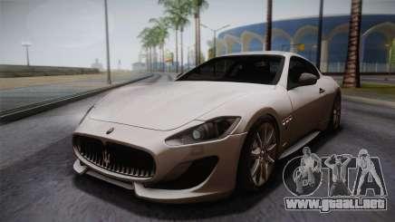 Maserati Gran Turismo Sport para GTA San Andreas