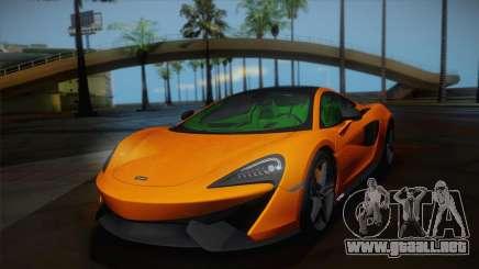 McLaren 570GT 2016 para GTA San Andreas