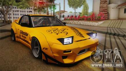 Nissan 180SX Rocket Bunny para GTA San Andreas
