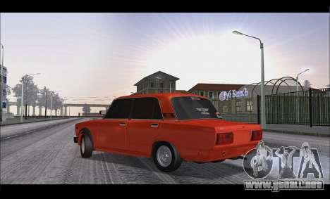 VAZ 2105 parche v3 para GTA San Andreas left