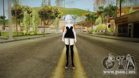 Short Dress Miku para GTA San Andreas