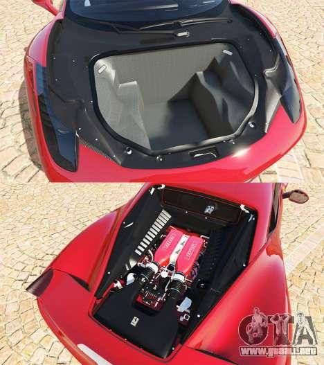 GTA 5 Ferrari 458 Italia v2.0 [add-on] vista lateral derecha