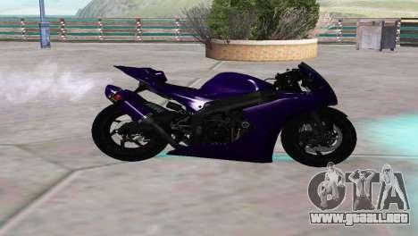 Aprilia RSV4 SPORTS para GTA San Andreas left
