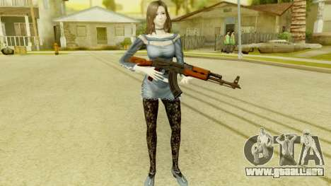 Fatal Frame 5 - Hisoka para GTA San Andreas tercera pantalla