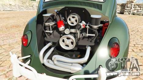 GTA 5 Volkswagen Fusca 1968 v1.0 [replace] vista lateral derecha