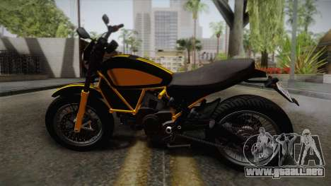 GTA 5 Pegassi Esskey PJ4 para GTA San Andreas left