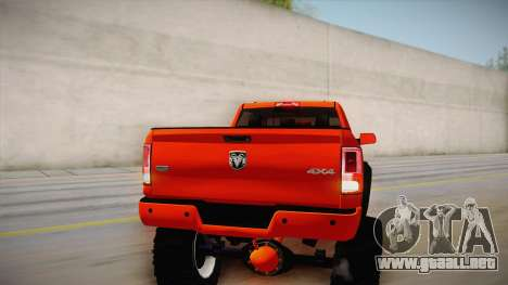 Dodge Ram 2500 Lifted Edition para GTA San Andreas