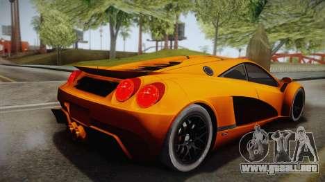 HTT Plethore LC750 2012 para GTA San Andreas left