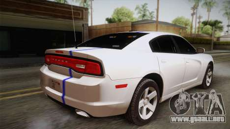 Dodge Charger 2013 Undercover para GTA San Andreas left