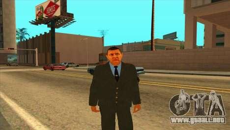 Karpov v1 para GTA San Andreas segunda pantalla