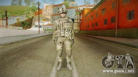 Multicam US Army 1 v2 para GTA San Andreas segunda pantalla