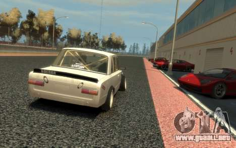 VAZ 2101 Combate Clásico (Paul Black prod.) para GTA 4 vista lateral