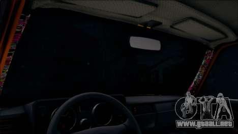 VAZ 2105 Pigler 1.0 para visión interna GTA San Andreas