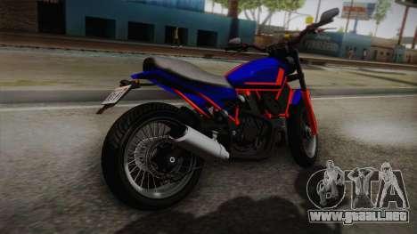 GTA 5 Pegassi Esskey PJ5 para GTA San Andreas left