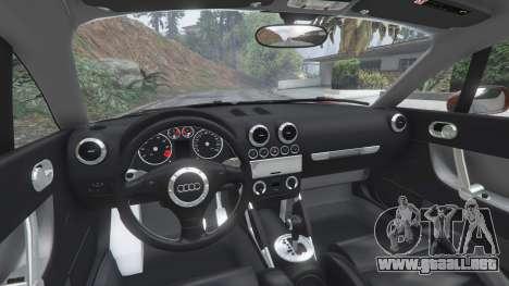 GTA 5 Audi TT (8N) 2004 [add-on] vista lateral derecha