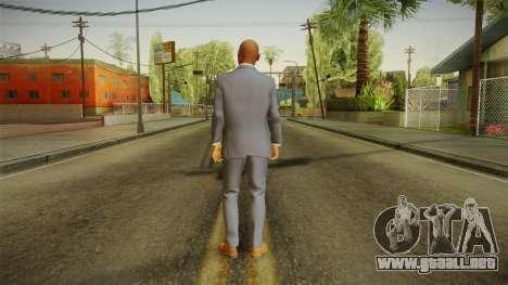 Quantum Break - Martin Hatch (Lance Reddick) para GTA San Andreas tercera pantalla