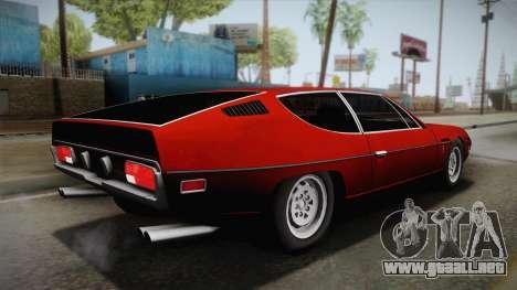 Lamborghini Espada S3 39 1972 para GTA San Andreas left