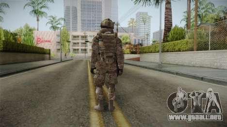 Multicam US Army 5 v2 para GTA San Andreas tercera pantalla