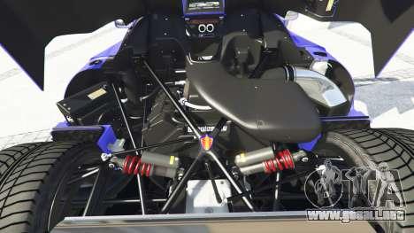 GTA 5 Koenigsegg CCX 2006 [Autovista] v2.0 [add-on] vista lateral derecha