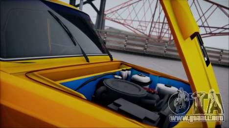VAZ 2105 parche 1.1 para visión interna GTA San Andreas