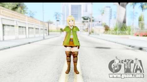 Hyrule Warriors - Linkle para GTA San Andreas segunda pantalla
