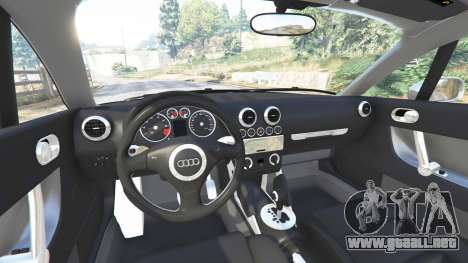 GTA 5 Audi TT (8N) 2004 [replace] vista lateral derecha