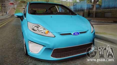 Ford Fiesta Kinetic Design para la visión correcta GTA San Andreas