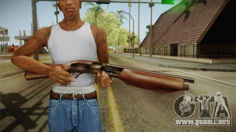 Silent Hill 2 - Shotgun para GTA San Andreas tercera pantalla